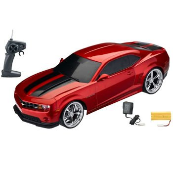 1:10 Licensed Red Camaro Electric Rtr Remote Control Rc Car (Xq)