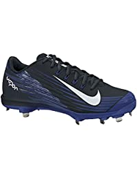 pictures of Nike Lunar Vapor Pro Metal Cleats Sz 13.5 BLACK/RUSH BLUE//WHITE