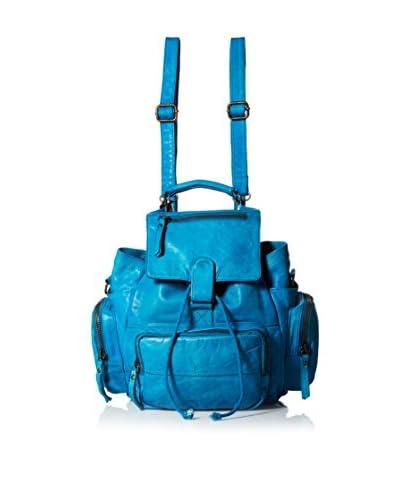 Latico Women's Felix Backpack, Crinkle Blue