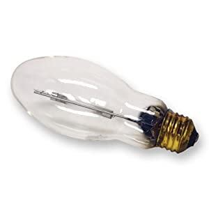 GE Lighting 22158 70-Watt HID Multi-Vapor PulseArc Quartz Metal Halide Medium Base Light Bulb, 1-Pack