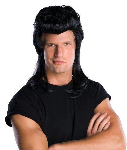 Rubie's Costume Pompadour Wig, Black, One Size - 1