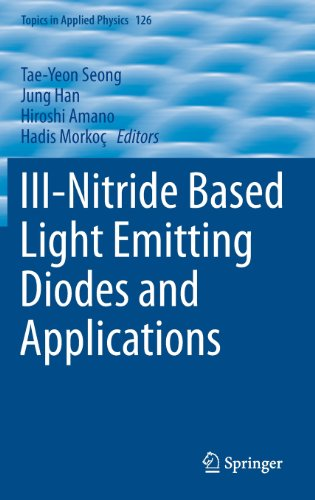 III-Nitride Based Light Emitting Diodes and Applications (Topics in Applied Physics)