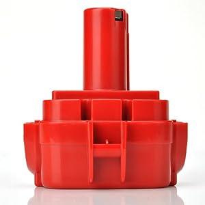 ATC Werkzeug Akku 12V 2,0Ah = 2000mAh pasend zur Ni-CD Batterie Makita 1220,1222,192598-2,192681-5,193981-6,638347-8,638347-8-2,PA12,6271DWAE Akku-Bohrschrauber,Makita Akku-Lampe ML120