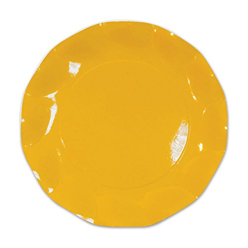 Yellow Large Plates (10/Pkg)