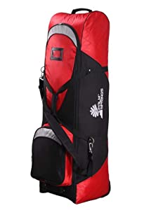 PALM SPRINGS GOLF Tour Player Travel Cover RED