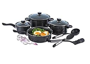Alpine cuisine cookware set kitchen dining for Alpine cuisine ceramic cookware