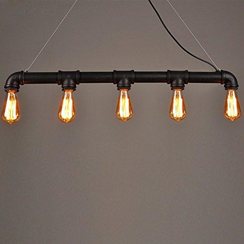 Lightess-Lampada-a-sospensione-in-stile-vintage-industriale-composta-da-un-tubo-metallico-con-5-luci-con-lampadine-Edison