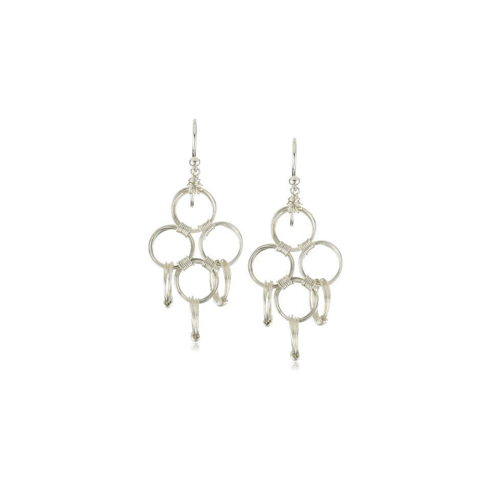 Amanda Sterett Small Elle Sterling Silver Earrings