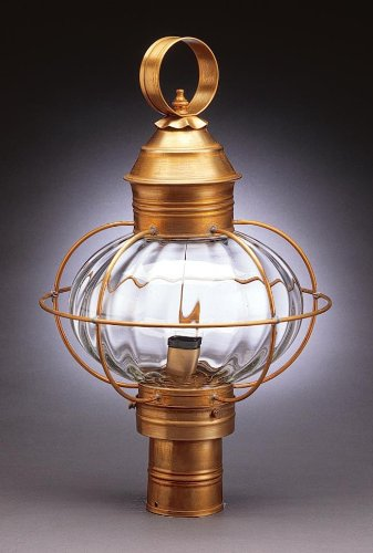 caged-onion-post-raw-brass-3-candelabra-sockets-optic-seedy-glass