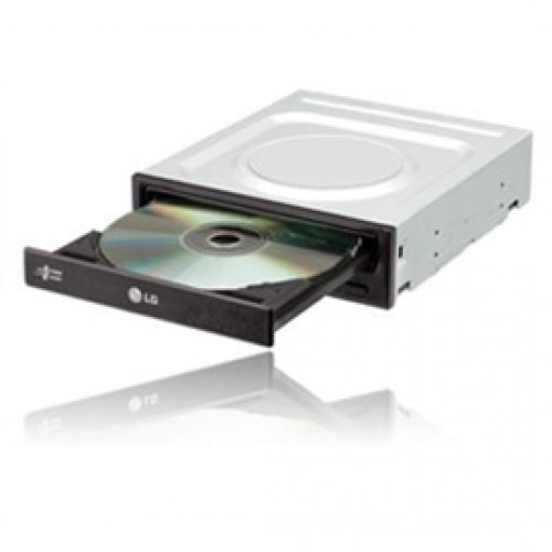 LG GH22NP21 22X E-IDE Super Multi DVD+/-RW Internal Drive, Bulk No Software Included (Black)