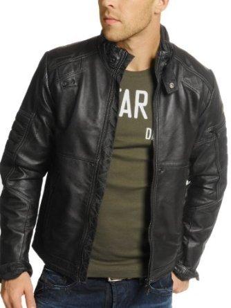 sweaters jacket g star jacket leather mfd black men. Black Bedroom Furniture Sets. Home Design Ideas