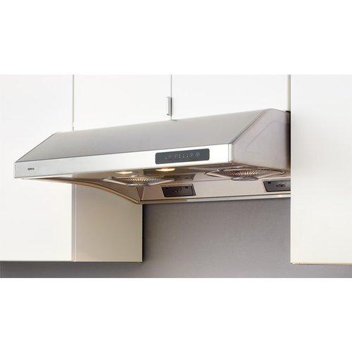 Zephyr Ak2536 695 Cfm 36 Inch Wide Under Cabinet Range Hood With Halogen Lightin, Stainless Steel front-38834