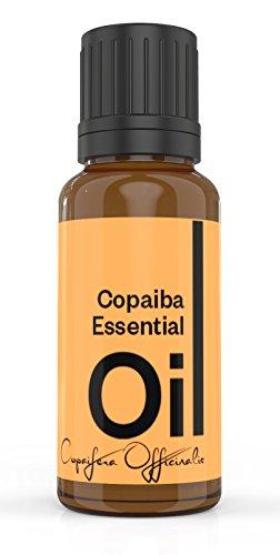 Cielune Copaiba Essential Oil - 100% Pure, Undiluted All Natural Premium Copaifera Officinalis Oil - Therapeutic Grade for Alternative Medicine - Ideal for Skin Care, Hair Care & Aromatherapy - 10ML