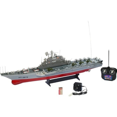 RC Aircraft Carrier Warship Battleship Ready to Run From Box Free UK Post