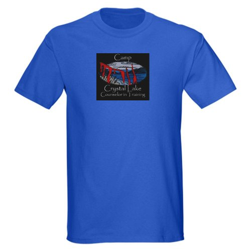 Camp Crystal Lake Counselor in Training T-Shirt Halloween Dark T-Shirt by CafePress