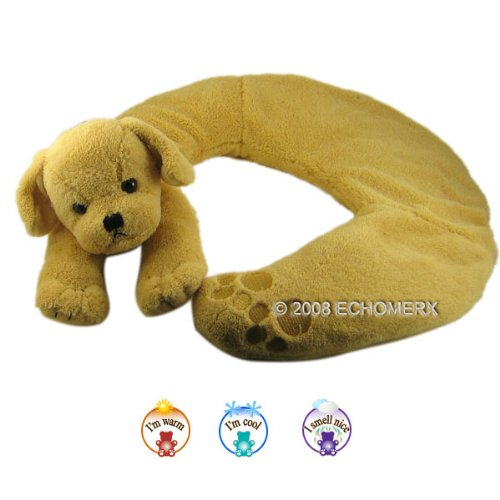 Aroma Pup Collar Wrap - Aromatherapy Stuffed Animal - Hot And Cold Therapy