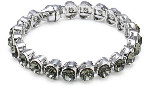 Schmuck-Art Heart Alizee 26611 6.0 centimeters Palladium Bracelet
