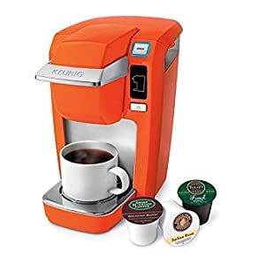 Keurig Coffee Maker Problems Lights Flashing : Amazon.com: Keurig B31 Mini Plus 1cup Espresso Machine Orange Color: Single Serve Brewing ...
