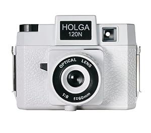 Holga 120N Casablanco Holgawood Collection Plastic Camera (White)