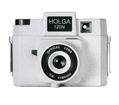 Best Review Of Holga 120N Casablanco Holgawood Collection Plastic Camera (White)