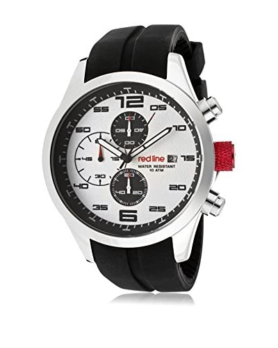 red line Men's 50042-02 Stealth Black Silicone Watch