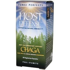 Fungi Perfecti Host Defense Chaga Capsules, 60