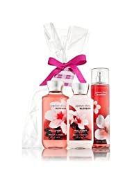 Bath & Body Works Japanese Cherry Blossom Gift Set - The current favorite to win Best Moisturizing Body Wash for the Midwest Body Division