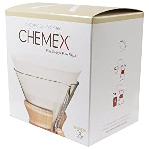 Chemex Pre Folded Circle Coffee Filter (100 Filters)