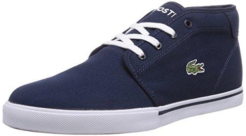 Lacoste AMPTHILL LCR2, Sneaker alta uomo, Blu (Blau (DK BLU/DK BLU DB4)), 43