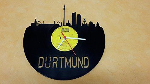 wanduhr-uhr-skyline-dortmund-silhouette-chronometer-aus-original-vinyl-schallplatte-upcycling-design