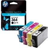 Hewlett Packard HP 364 Combo pack (SD534EE) Cyan/Magenta/Yellow/Black Ink Cartridges peripherals accessories 