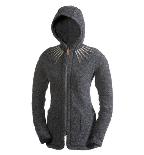 66 Degrees North Women'S Kaldi Star Neck Sweater (Gray, Medium)