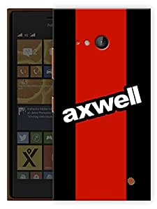 """Humor Gang Axwell Edm Printed Designer Mobile Back Cover For """"Nokia Lumia 730"""" (3D, Matte, Premium Quality Snap On Case)"""