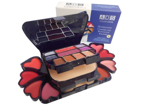ADS-Color-Series-Makeup-Kit-8-Eyeshadow-1-Power-Cake-8-Lip-Color-2-Blusher-Product-Color-May-Vary-22g
