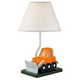 Cal Lighting BO-5667 Bull Dozer Childrens Table Lamp