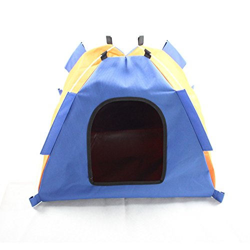 Rlley Collapsible Outdoor Travel Safety Pet Shelter Toy Storage Mini Explorer Happy Habitat for Indoor Cats Dog House (style2) (Ferrel Cat House compare prices)