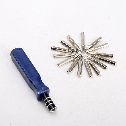 15-In-1 16Pcs Screw Driver Mobile Cell Phone Repair Tool Kit Set T5 T6 T8 T10