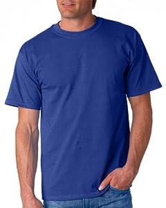 Gildan Adult Ultra Cotton T-Shirt, Metro Blue, Small. 2000