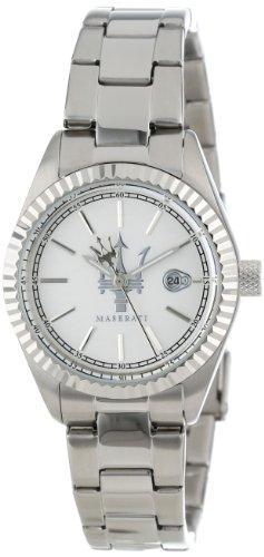 Maserati Women's R8851103503 Tridente White Resin Band Watch