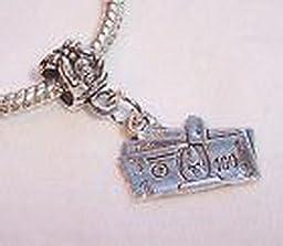 Pugs & Pandoras Dollar Bills Cash Money Clip Hundred Dangle Bead for European Charm Bracelet PP21228