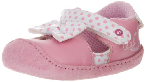 Stride Rite Crawl Minnie Mouse Pre-Walker (Infant/Toddler),Pink/White,1 M Us Infant front-1061956