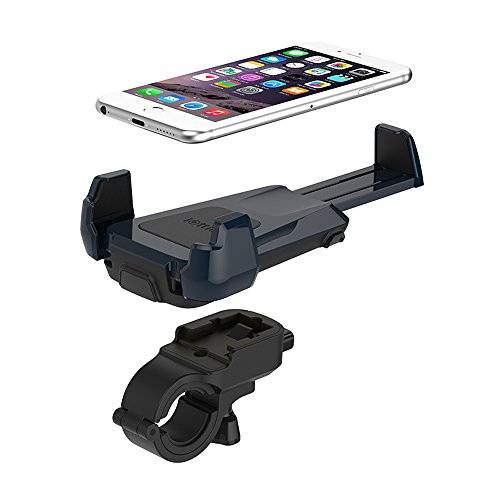 Bike Mount, iOttie Active Edge Bike & Bar, Motorcycle Mount for iPhone 6 (4.7)/ 5s/ 5c/4s, Galaxy S6/S6 Edge/S5/S4- Retail Packaging - Indigo Blue