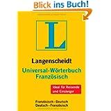 Langenscheidt Universal-Wörterbuch Französisch: Französisch-Deutsch/... (Langenscheidt Universal-Wörterbüch...