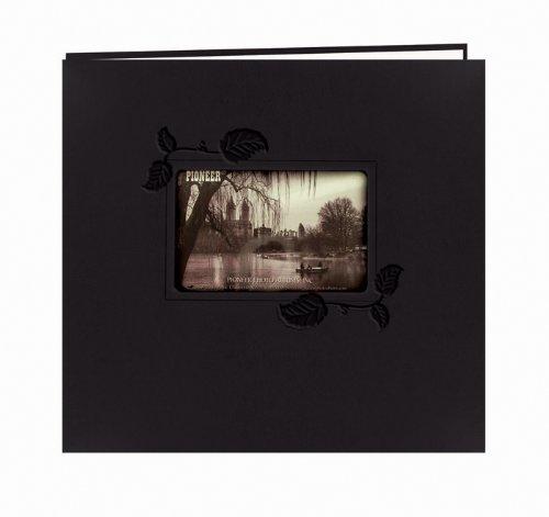 pioneer-12-x-12-zoll-schwarz-mit-ivy-gepragt-post-bound-album-mehrfarbig