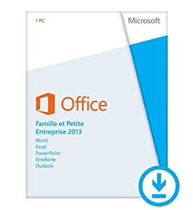 Office Famille et Petite Entreprise 2013 - 1 PC [Téléchargement]