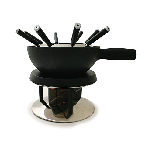 Swissmar FE1002 AlpenGlow 11-piece Electric Fondue Set
