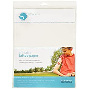 Silhouette Temporary Tattoo Paper