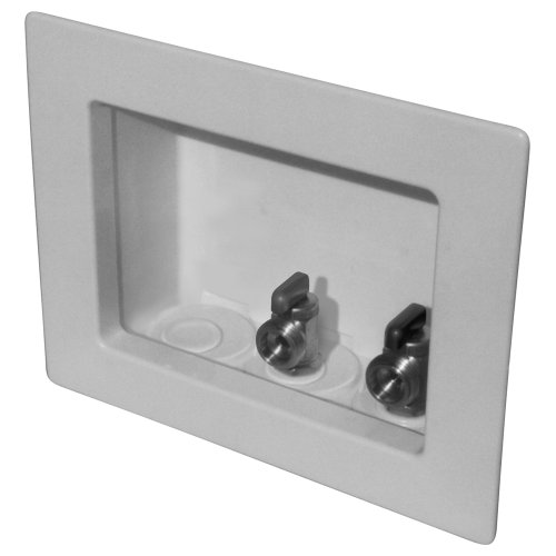 Lsp Ob-205 Outlet Box With Mip Valves And Right Outlet Assembled, White
