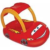 SwimWays Sun Canopy Baby Float - Disney Cars