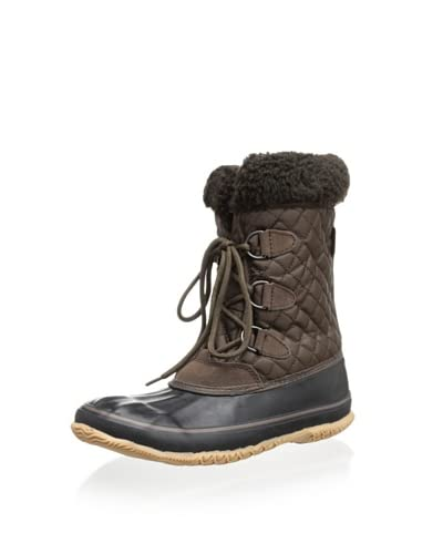 Kamik Women's Snowfling Insulated Boot  [Dark Brown]